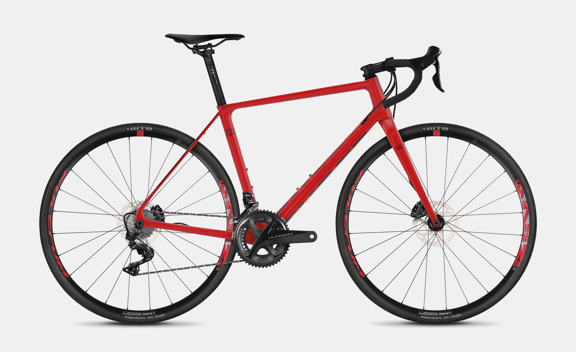Ghost Road Rage 3.8 LC U RED / BLK